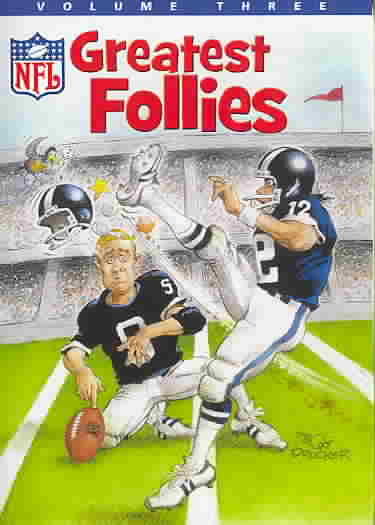 NFL GREATEST FOLLIES VOL 3 (DVD)